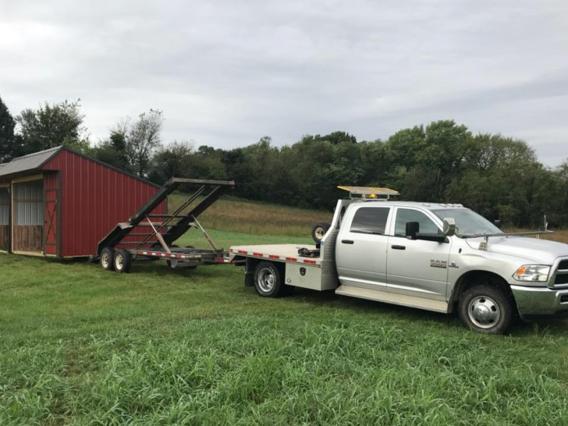 horse shed delivery