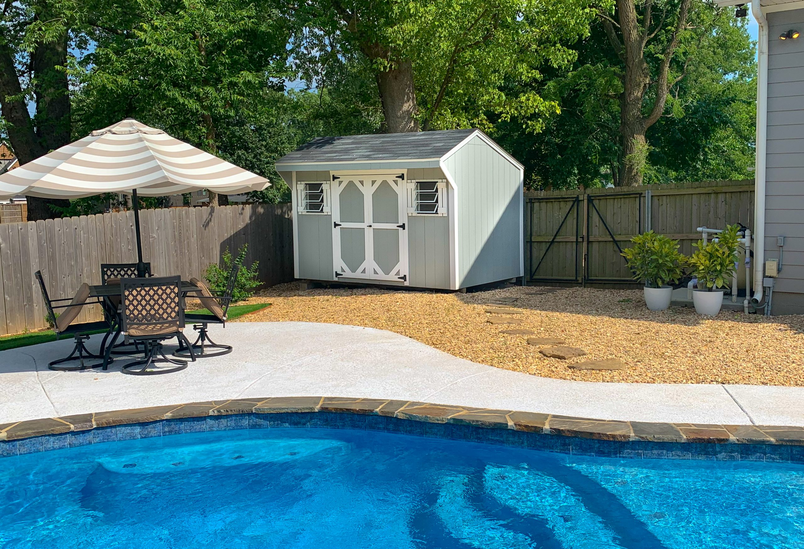 pool sheds for sale in arkansas by crestwood storage barns 1