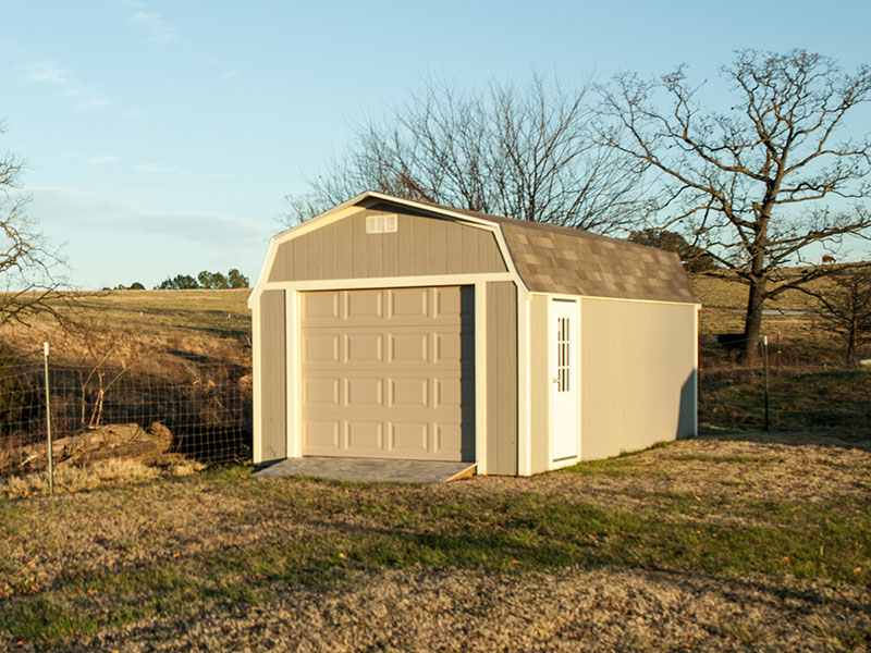 sheds for sale with garage door