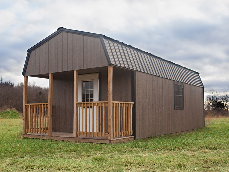 sheds for sale with porches in huntsville