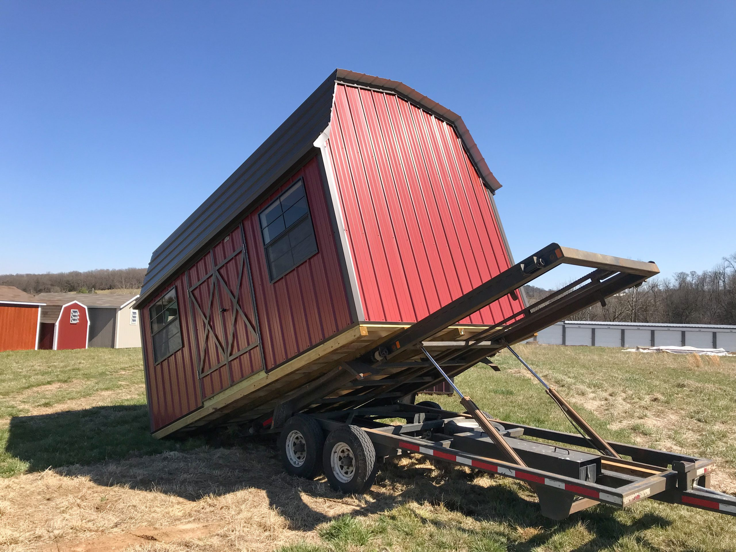 storage shed moving services nwa