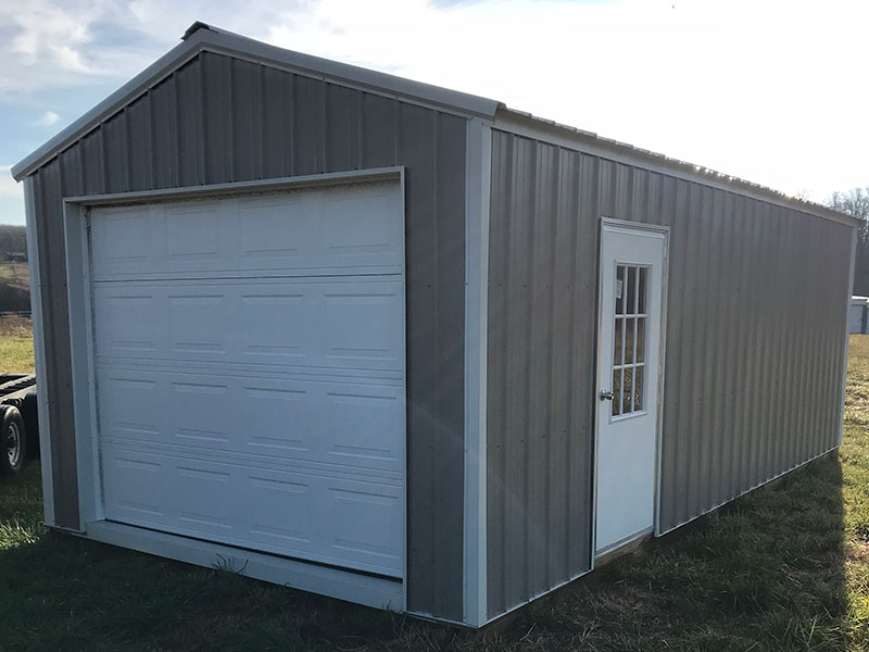 prefab metal garage in fayettevillel arkansas