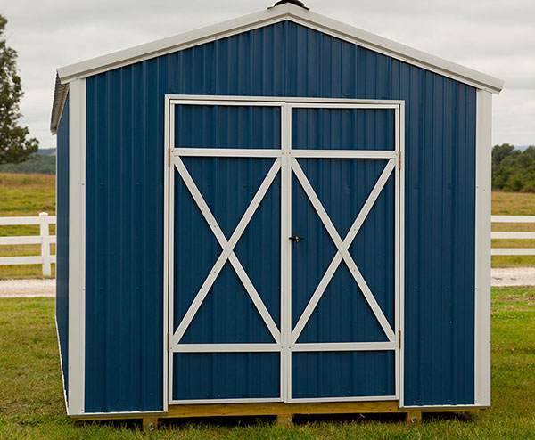 a frame metal sheds for sale in bentonville