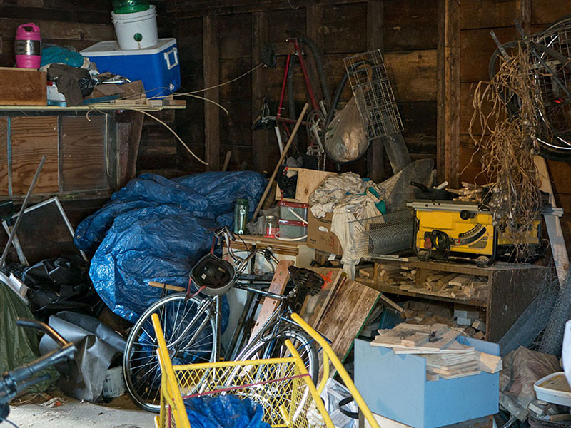 messy shed for storage shed organization tip