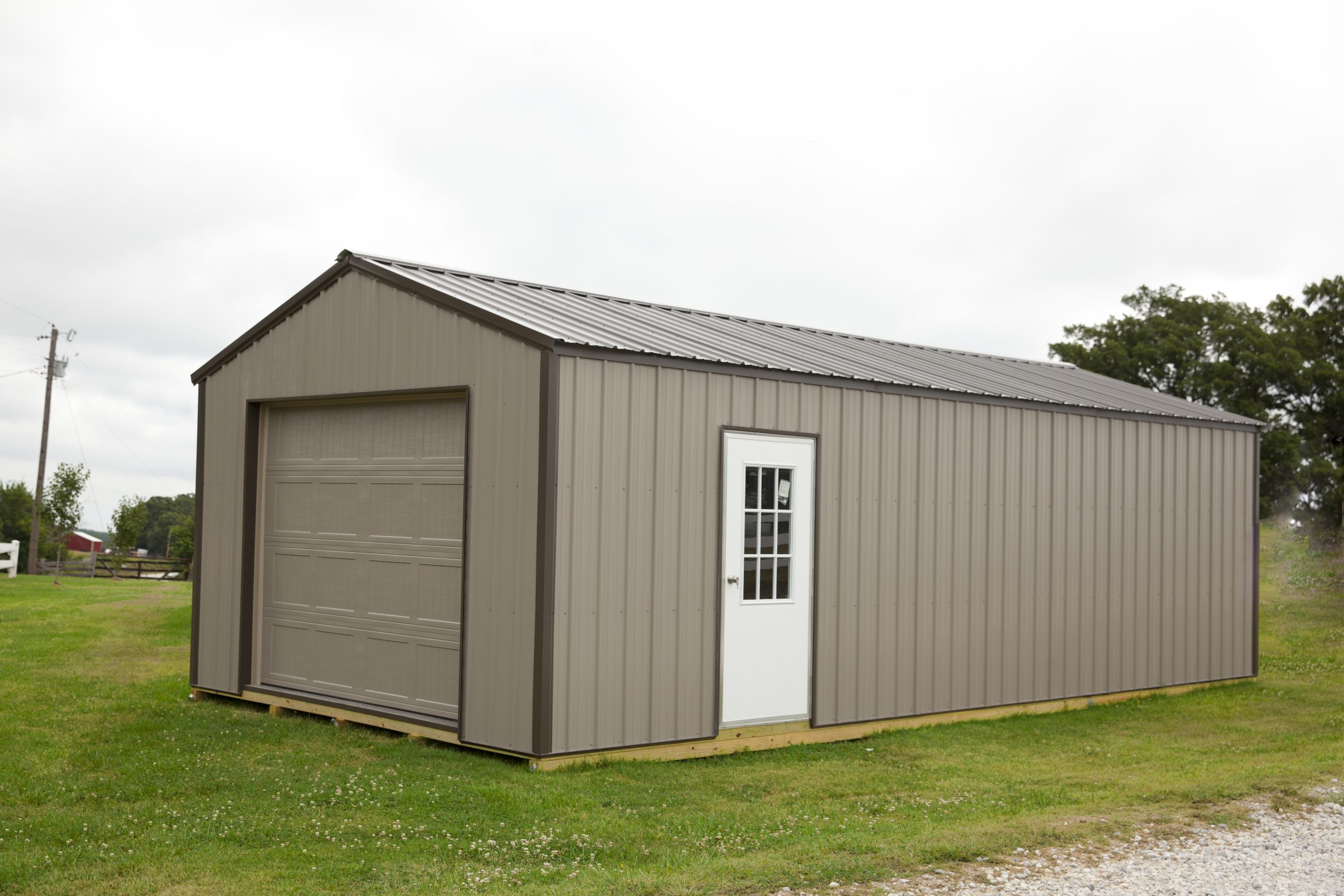 metal shed garages crestwood storage barns
